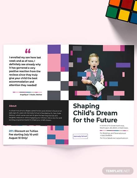 School Brochure - 30+ Download in PSD, Vector, PDF, Illustration
