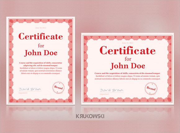 20+ Graduation Certificates Sample Templates - graduation certificate