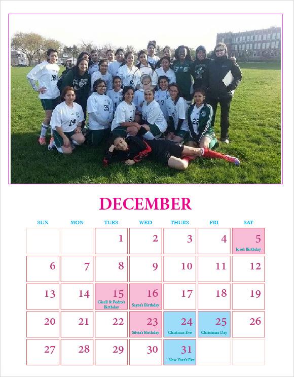 9+ Indesign Calendars - In Design, EPS - calendar sample design