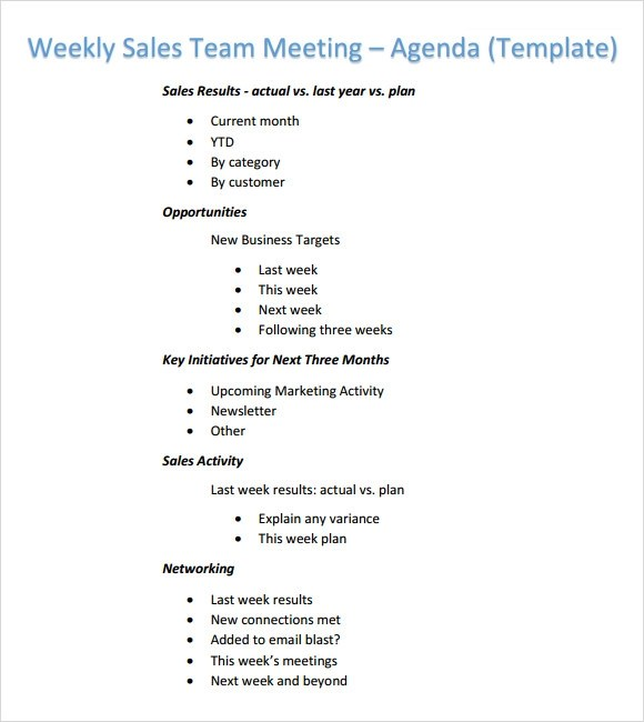 doc 12001878 team meeting agenda sample how to design an