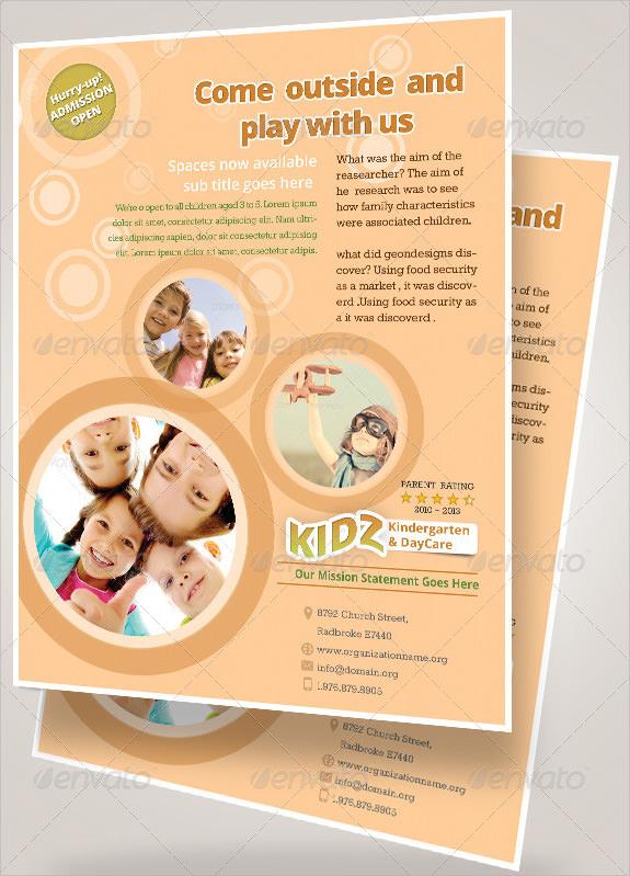 daycare advertising flyers samples - Ibovjonathandedecker