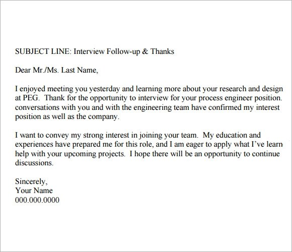 thank you email after second interview - Amitdhull - thank you email template