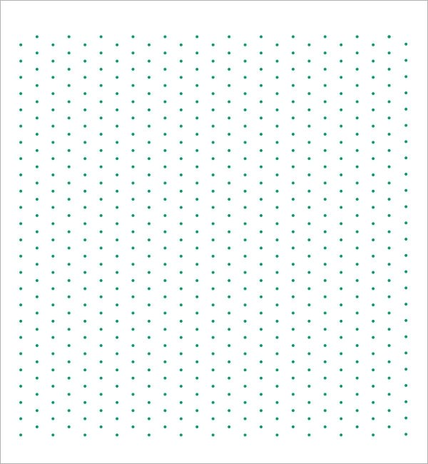 Isometric Dot Paper - 7+ Free Download for PDF - free isometric paper