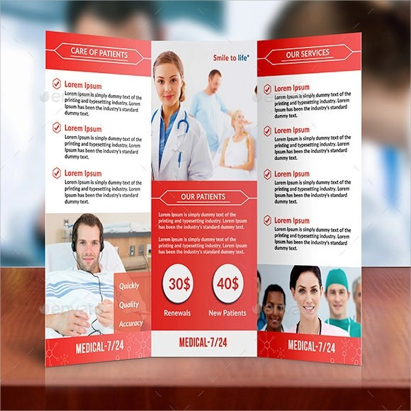 8+ Medical Brochures Sample Templates