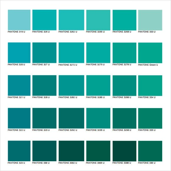 Pantone Color Chart Template Pantone Matching System Color Chart In - sample cmyk color chart