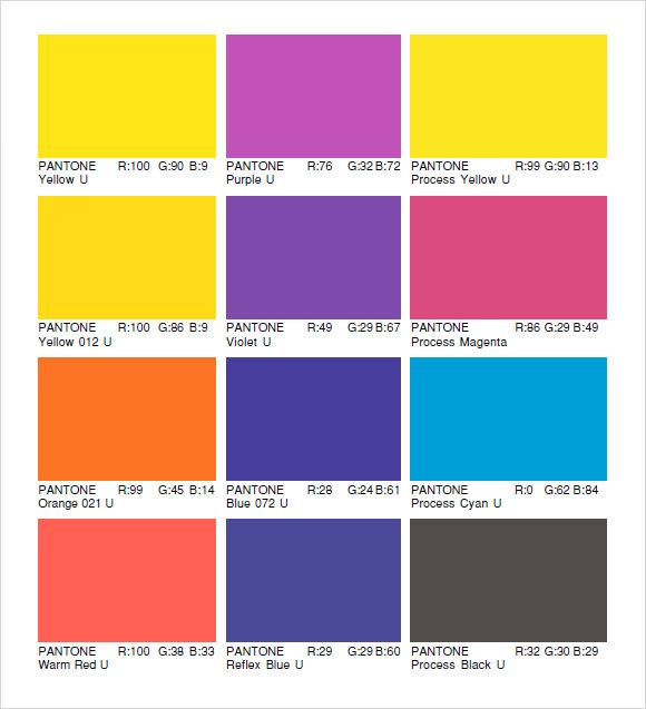 √ Sample Rgb Color Chart