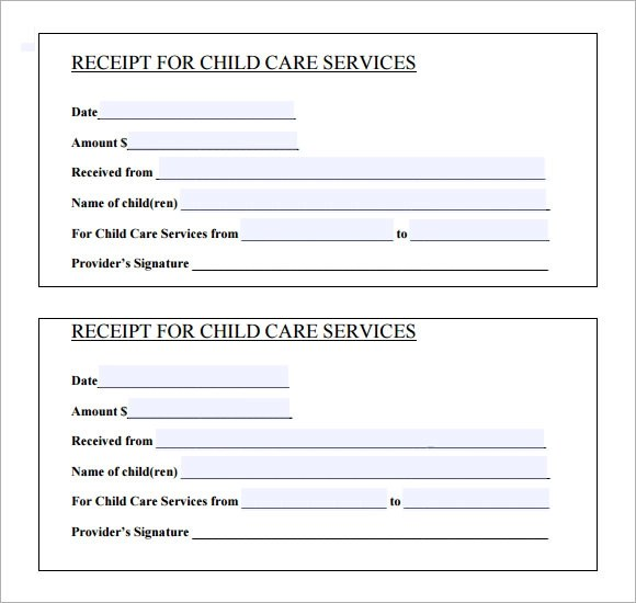receipt for service template - Ozilalmanoof - printable receipt for services