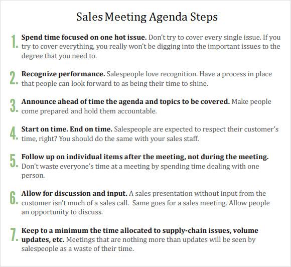sample meeting minutes template