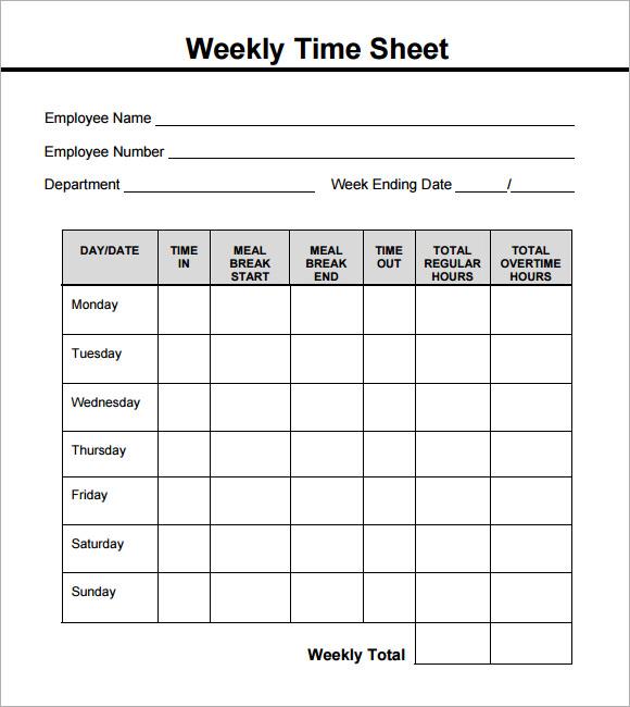 weekly time sheet printable radiovkm