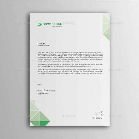10+ Sample Personal Letterhead Templates to Download Sample Templates