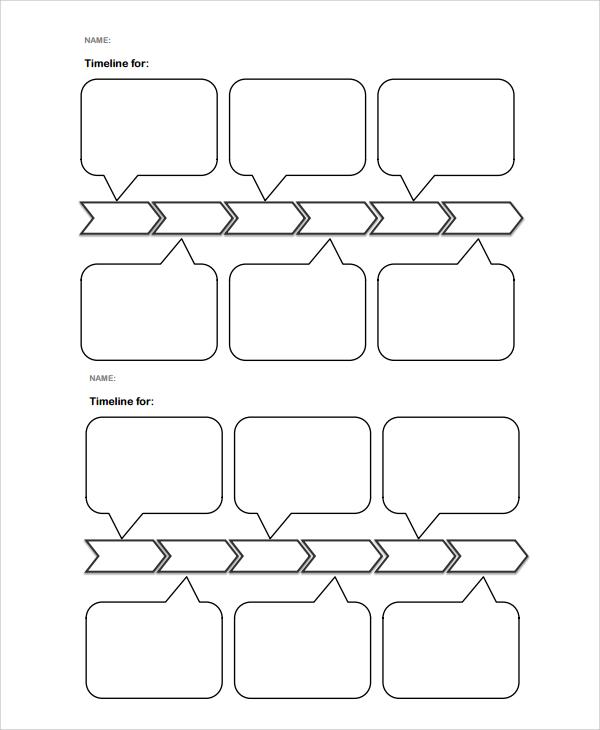 7+ Sample Timelines Sample Templates - blank timeline pdf