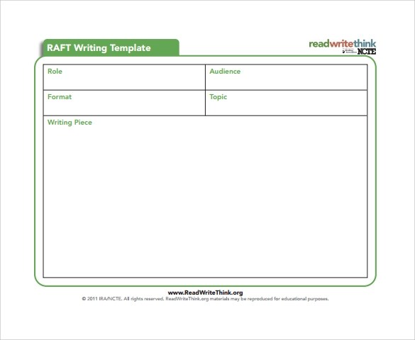 Sample Writing Template - 9+ Free Documents in PDF