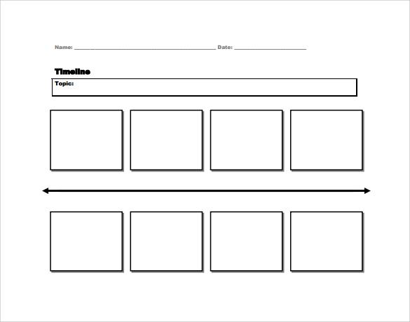 Sample Timeline - 6+ Documents in PDF