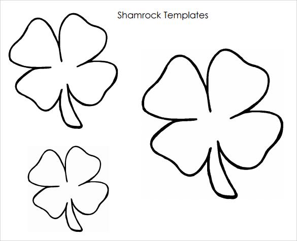 Sample Shamrock -8+ Documents in PDF, Word - shamrock template