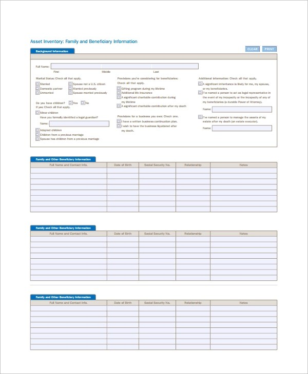 7+ IT Inventory Templates Sample Templates - document inventory template