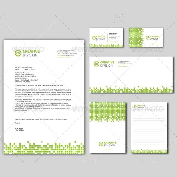 11+ Sample Company Letterhead Templates Sample Templates