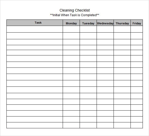 Sample Excel Checklist Template  Resume Template Sample