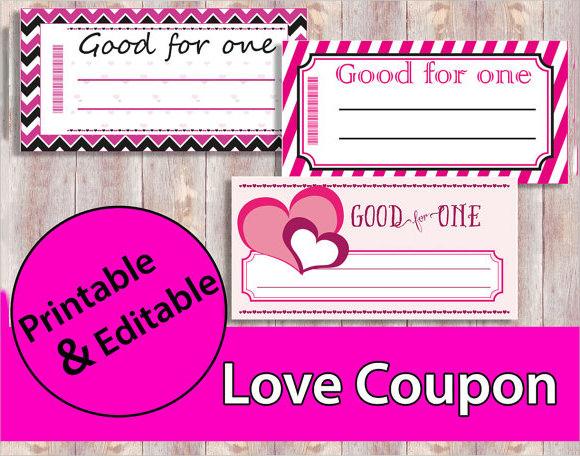 birthday coupon template word