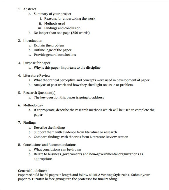 mla essay outline how to create an outline for an argumentative - essay outline
