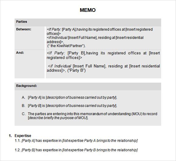 Sample Confidential Memo - 7+ Documents in PDF, Word - sample confidential memo
