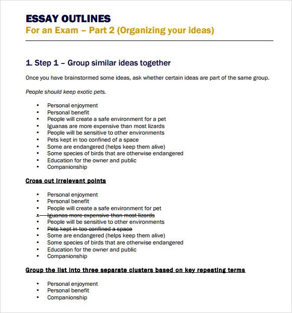 Essay format nz