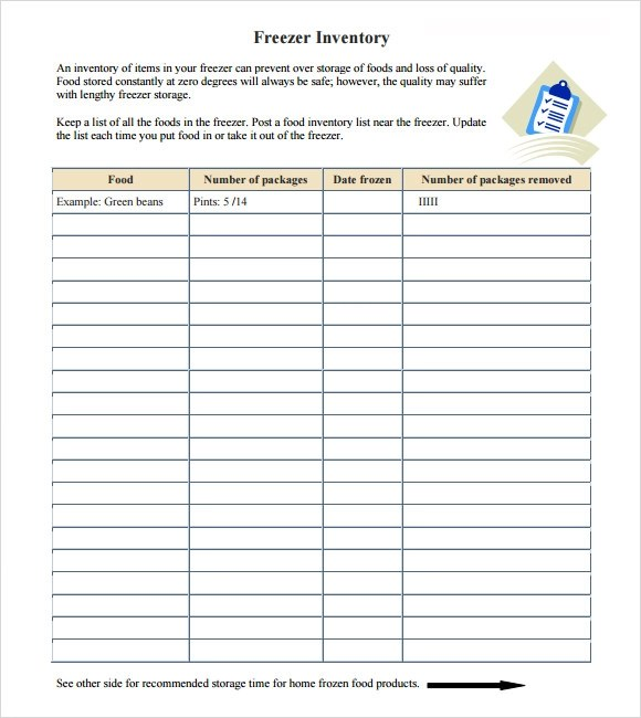 Inventory Report Template Hardware Inventory With Add-On Report - food inventory template