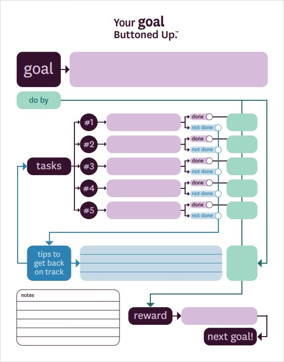 Goal Setting Template - 12+ Download Free Documents in PDF, Word - sample goal tracking