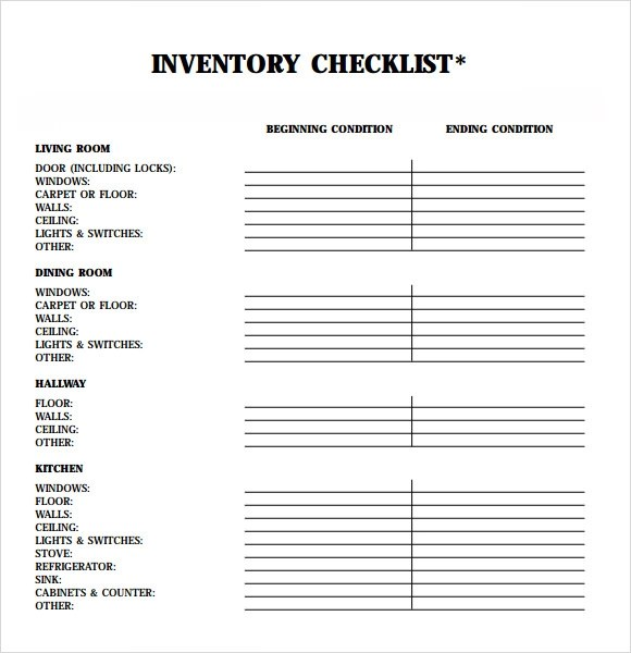 Charming ... Rental Inventory Template Rent Receipt Template Free Rent Receipt    House Inventory List Template ... On Inventory List For Landlords