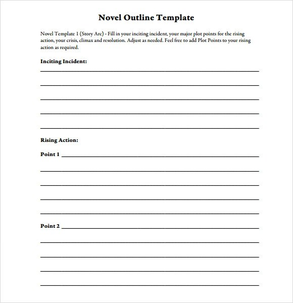 Novel Outline Template lisamaurodesign - book outline template