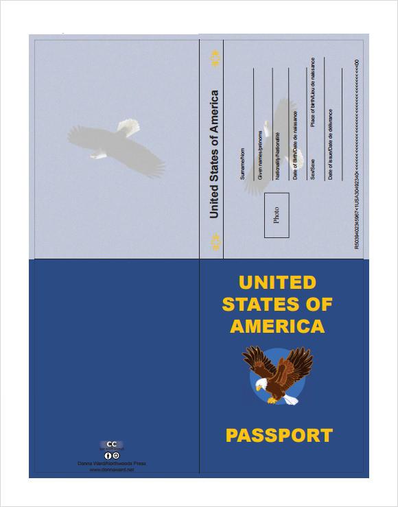 9+ Passport Samples Sample Templates - passport template