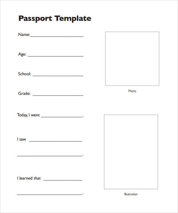 9+ Passport Samples Sample Templates