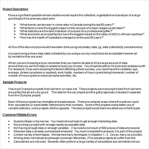 project outline template word - Ozilalmanoof - project outline template