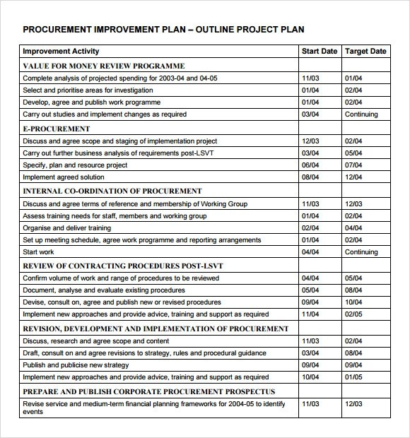 Sample Project Plan Get Project Plan Template Excel Exceltemple - spending plan template