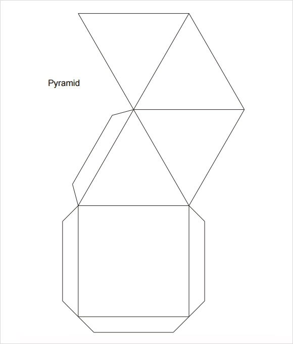 Pyramid Template - 8+ Download Free Documents in PDF , Word - pyramid template