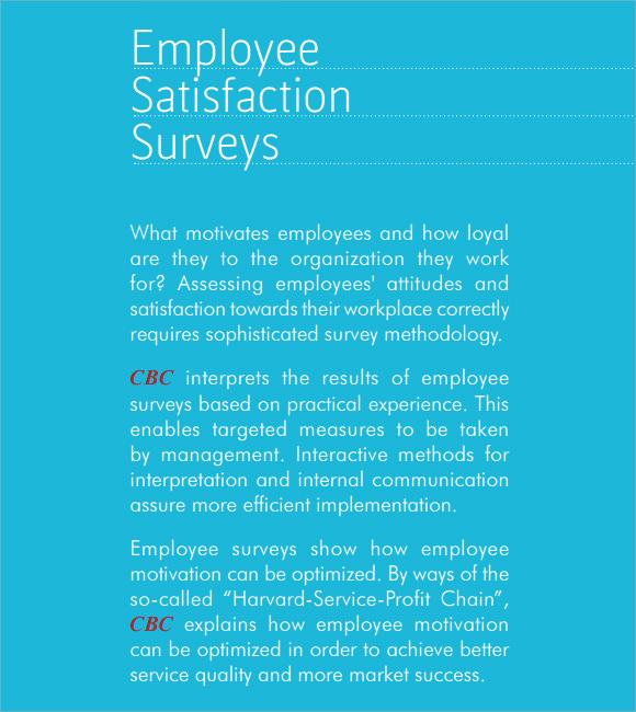 employee benefits satisfaction survey