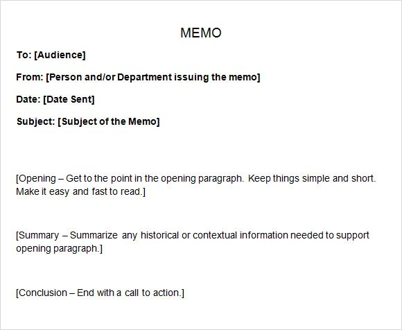 Sample memo for habitual Absences 6 Sample Casual Memo Letters