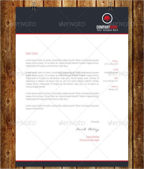 how to make company letterhead