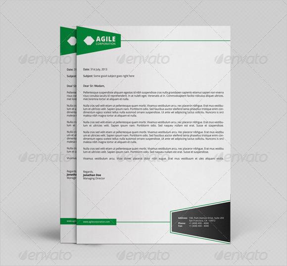 Sample Corporate Letterhead - 6+ Documents in PSD