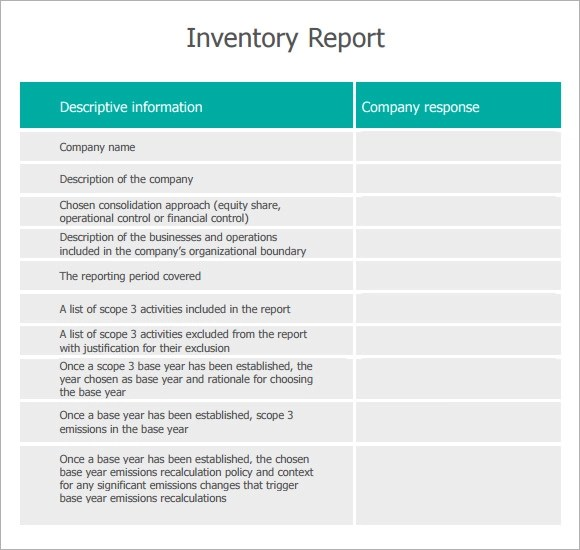 Summary Report Template Word – Summary Report Template Word