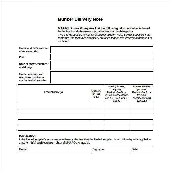 Delivery Note Template Word  NodeResumeTemplatePaasproviderCom