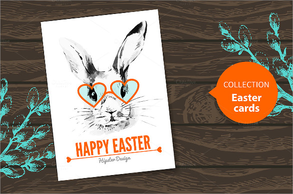 Easter Card Template - 20 +Download Documents in PSD , Vector - sample easter postcard template