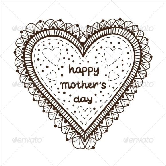 9 Awesome Sample Mothers Day Card Templates to Download Sample
