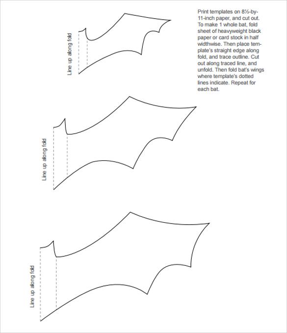 Sample Bat Template - 14+ Documents in Word, PDF - bat template