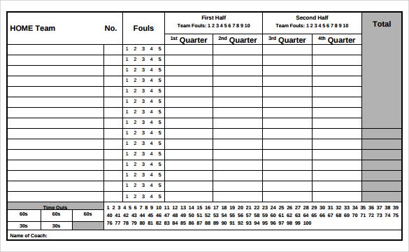 Volleyball Score Sheet Template League Updates Thompson Rec - sample cricket score sheet