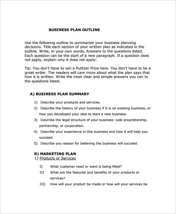 16+ Sample Startup Business Plan Templates Sample Templates
