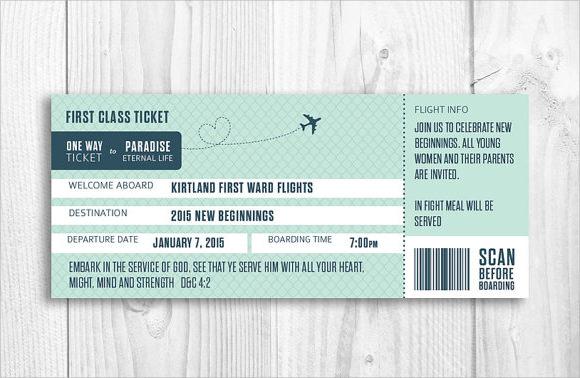 10 Boarding Pass Samples Sample Templates