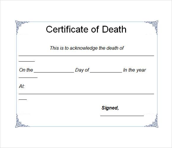 Word Certificate Template Certificate Templates For Word - birth certificate template word