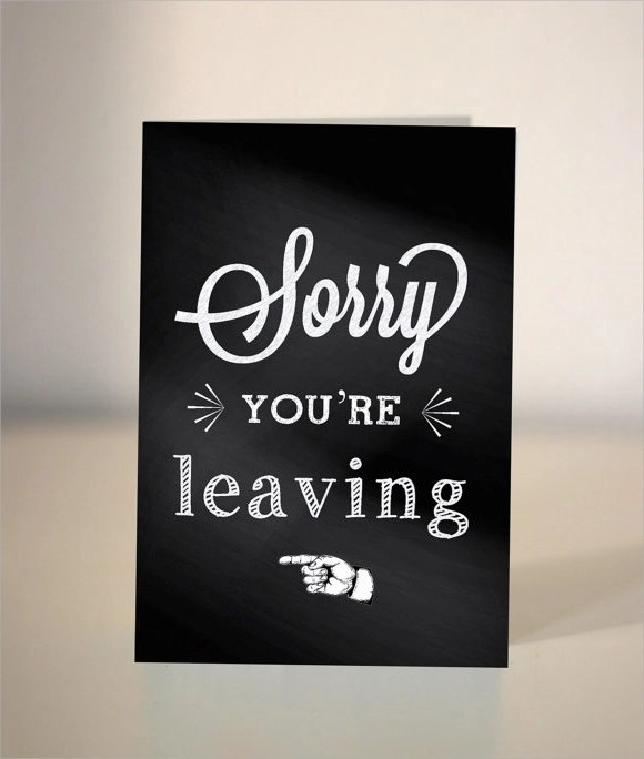 9 Sample Farewell Card Templates to Download Sample Templates