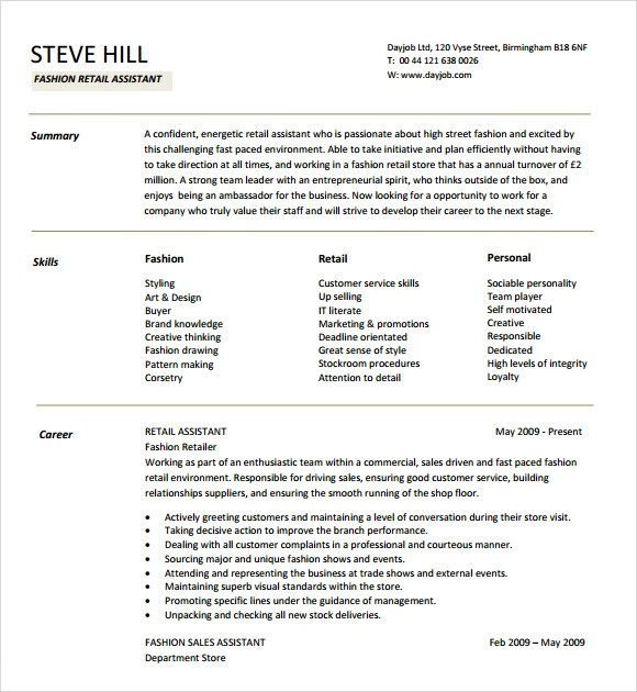 11+ Sample Designer Resumes Sample Templates
