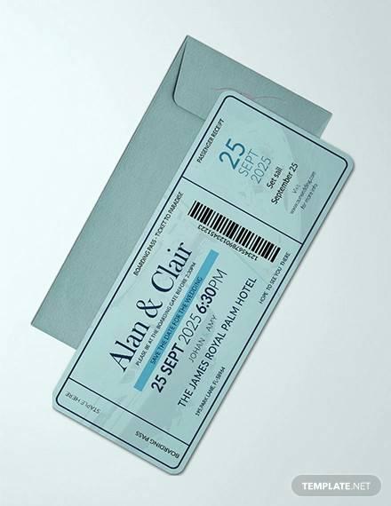 sample boarding pass template